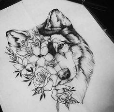 wolf tattoo - Taylor Gallagher - My list of best tattoo models Body Art Tattoos, Tattoo Drawings, New Tattoos, Cool Tattoos, Wing Tattoos, Eagle Tattoos, Flower Drawings, Celtic Tattoos, Tattoo Art