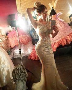 Do you like it? New Dresses from my amazing Designer @aprilblackdiamond 💎✨ @playmateolgaloera - Olga Loera (@olgaloera)