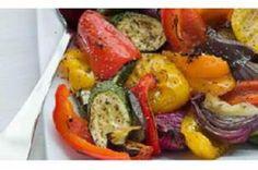 Assado de Beringelas, Curgetes e Tomates