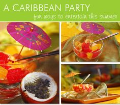 Throw a dazzling Caribbean inspired birthday party this summer | Styled by Bellenza.   http://www.bellenza.com/party-ideas/baby-showers/fast-and-simple-menu-for-a-caribbean-themed-birthday-party#.U6BZPNgswQk  #caribbeanparty  #caribbeanpartyideas #caribbeanpartytheme