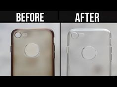 How to Clean Yellowness of Transparent Mobile Cover How To Clean Iphone, Clean Phone, Diy Mobile Cover, Mobile Covers, Handy Case, Wie Macht Man, Applis Photo, Silicone Phone Case, Cleaning