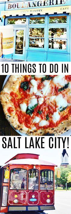 PIN NOW! 10 Things to do in Salt Lake City, Utah!