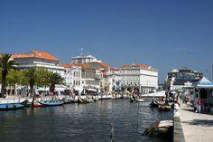 * Barcos Moliceiros *  Aveiro, Portugal.