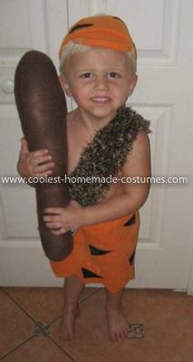 coolest bambam child costume