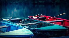 Memorable picture with boats