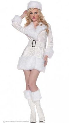 Eskimo Princess Halloween Costume For Infant Toddler Girls