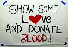 Donate Blood Now!