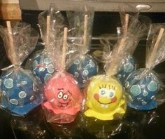 how to make creative candy apples