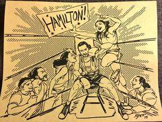 Hamilton fan art