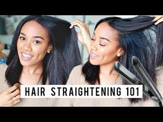 8 Tips for Straighter Hair | Flat Ironing Tips + Technique [Video] - Black Hair Information Community