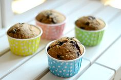 Blueberry chocolate muffins
