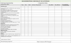 Image result for housekeeping checklist for manufacturing plant