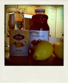 Jillian Michaels Detox Drink Ingredients: 60 oz. (7.5 cups) distilled or pure water 2 tbsp. lemon juice 1 tbsp. natural, sugar-free cranberry juice 1 dandelion root tea bag (I use Yogi brand detox tea) Combine all ingredients in a pitcher and stir. Keep tea bag in mixture until it is finished. Drink 60 oz. every day for seven days. #weightlossbeforeandafter