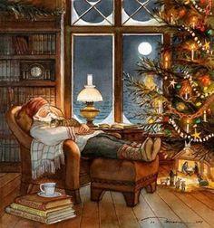 A quiet winters nap...