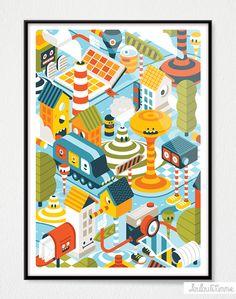 New prints! Character Design, Illustration, Print Design