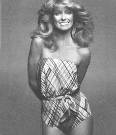 I will forever be haunted by Farrah Fawcett's $6 million dollar smile and feathered hair!