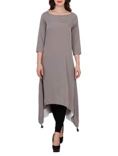 Check out what I found on the LimeRoad Shopping App! You'll love the grey crepe highlow kurta. See it here http://www.limeroad.com/products/14544723?utm_source=6c79537446&utm_medium=android