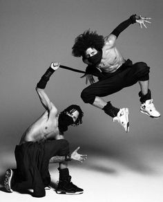 Wicked pair! Les Twins. I love love love them.