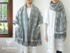 klippan  shawl poncho scarf