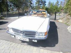 Mercedes-Benz SL 450, Tysk bil, orginal 1978, 102000 km, kr 229000,-