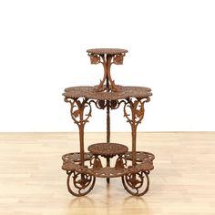 """Garden Furniture New Orleans rococo cast iron garden furniture, """"hinderer's iron works, no, la"""