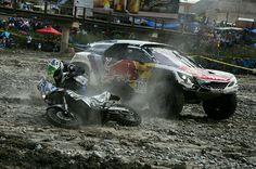 Rallye Paris Dakar, Rallye Raid, Rally Car, Peugeot, Monster Trucks, Racing, Bike, Cars, Vehicles