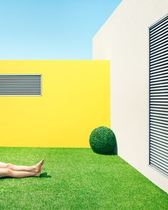 Clemens Ascher photographs a fictional indoor garden complex
