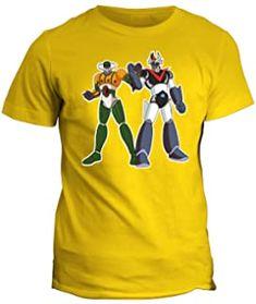 100/% Cotone Organico MUSH T-Shirt Jigen Cartoon Lupin III