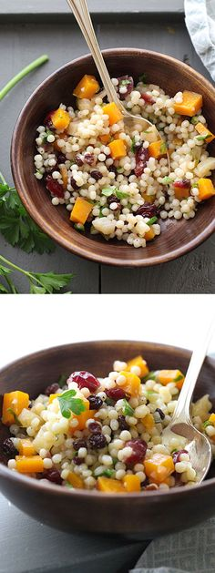 This salad is my version of a favorite from Whole Foods salad bar and the best part is the flavors only get better with time | foodiecrush.com