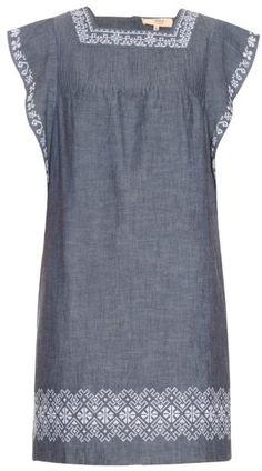 VANESSA BRUNO ATHÉ Egiste cotton-chambray dress