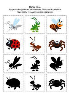Bug Activities, Montessori Activities, Preschool Worksheets, Mandarin Lessons, Learning English For Kids, Spring School, Kids Activity Books, Bug Art, Bug Crafts