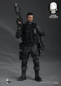toyhaven: Preview VTS VM-007 1/6th Scale Dark Soldier 12-inch Figure aka Karl Urban as John Grimm