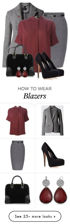 """PRESENTATION"" by arjanadesign on Polyvore featuring MICHAEL Michael Kors, Carvela Kurt Geiger, Loewe and RED Valentino"
