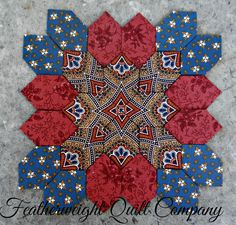 This is a fun and pretty block. There are several options to making this block. Each one is unique. You could easily combine two or more.
