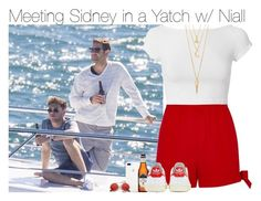 """""""Meeting Sidney in a Yatch w/ Nial"""" by vane-abreu ❤ liked on Polyvore featuring River Island, Branca, Helmut Lang, adidas, BERRICLE and ZeroUV"""