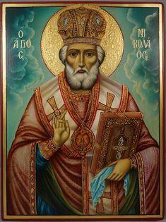Religious Icons, Religious Art, Monastery Icons, Roman Church, Roman Catholic, Paint Icon, Best Icons, Art Carved, Saint Nicholas