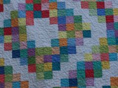 Busy Hands Quilts, 30s Barn Raising, Lap Quilt, Log Cabin Quilt. Pin Now and View Later!