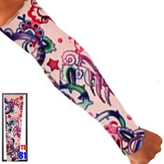 Shop for Tattoo Sleeve Beautiful Spring Unisex Arm Sleeve Adult 1 Pc at Balli Gifts USA. Free Shipping on orders $39.99+ USA