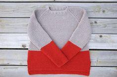 Gorgeous sweater pattern!  Garment House | Plowline Raglan Sweater Pattern