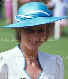 August 1 1986 Diana, Colonel-in-Chief, Royal Hampshire Regiment, presented New Colours to the 1st Battalion at Tidworth, Hampshire
