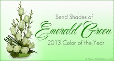 Shades of Emerald Green – The Color of the 2013!