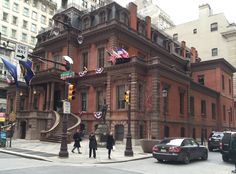 The Union League, a Republican club founded during the Civil War.  Photograph c Stephen Wolper