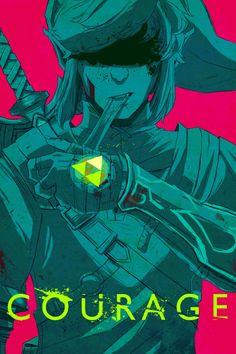 Artist: mausratt (tumblr) | Link | Zelda