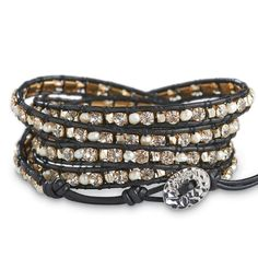 Rock Star Night Wrap Bracelet from Arhaus Jewels on shop.CatalogSpree.com, your personal digital mall.