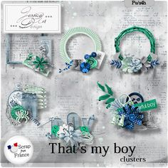 That's my boy * clusters * by Jessica art-design