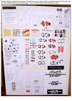 Graphic Design - logo development. Excellent AS Design submission by Georgia Shattky, ACG Parnell College!
