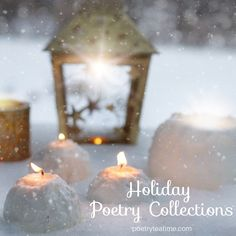 Holiday season is the perfect time of year to cuddle up by the fire with a book of poetry! We'd like to introduce some of our favorite collections of holiday-related poetry for your enjoyment today. So be sure to bundle up and read on! Holiday Poems, Christmas Poems, Grinch Stole Christmas, Holiday Traditions, Celebration Around The World, Twas The Night, Poetry Collection, The Night Before Christmas, Poetry Books