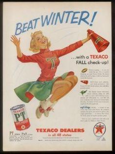 vintage  cheerleader art