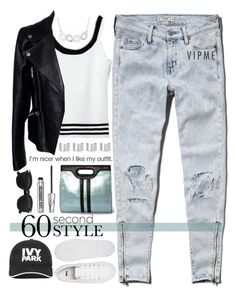 """~60 Second Style: Inspired by Drake~"" by amethyst0818 ❤ liked on Polyvore featuring Abercrombie & Fitch, ASOS, Alexander McQueen, Bare Escentuals, Maison Margiela, Ivy Park, DRAKE, views, 60secondstyle and vipme"