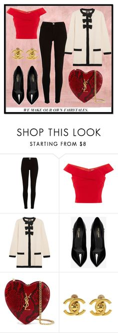 """""""Elegant one"""" by patguerra on Polyvore featuring moda, Rothko, Boutique Moschino, Yves Saint Laurent y Chanel"""